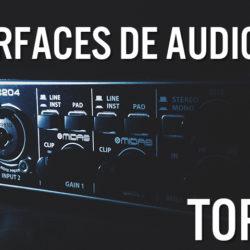 INTERFAZ DE AUDIO USB PARA GRABACIÓN EN ESTUDIO DES