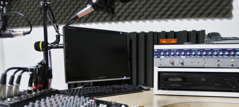estudio de grabación casero BOT