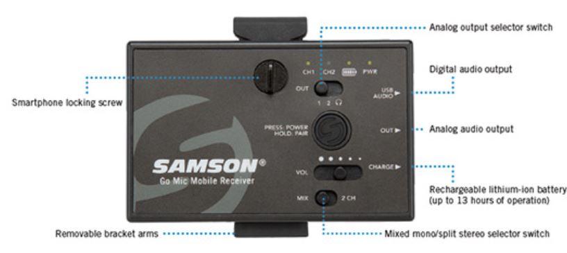 Samson go mic mobile