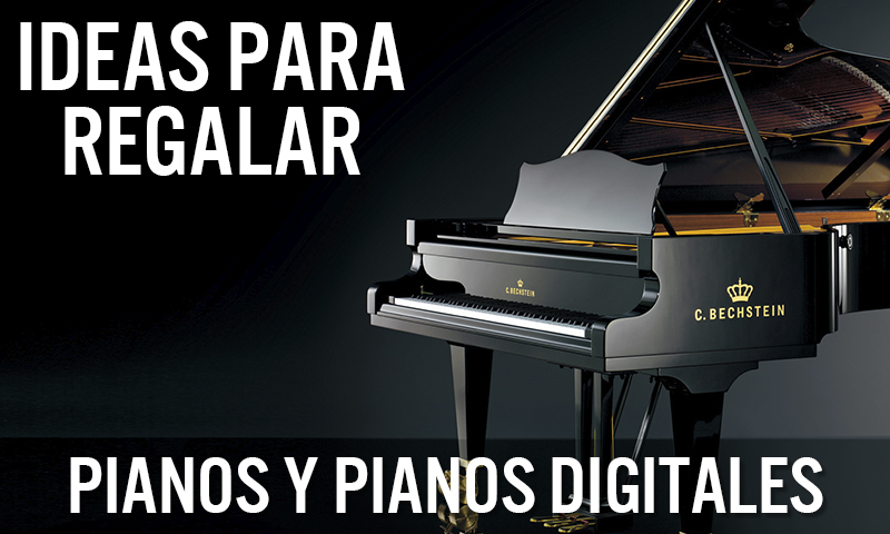 Ideas para regalar: Pianos y Pianos digitales