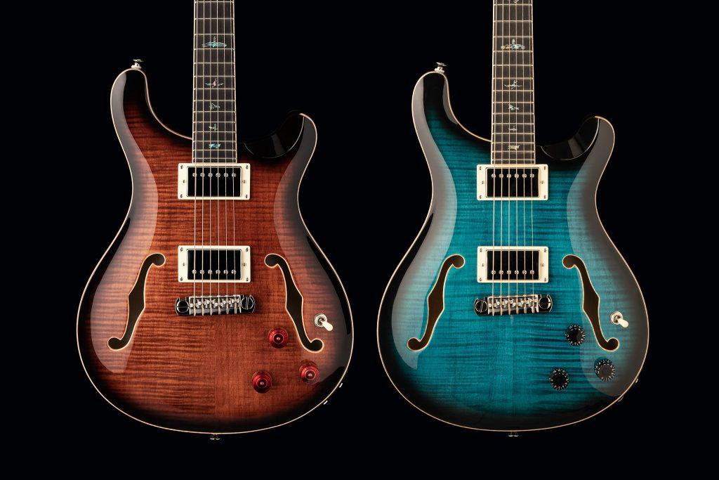 Nuevas Guitarras PRS SE Hollowbody II Piezo