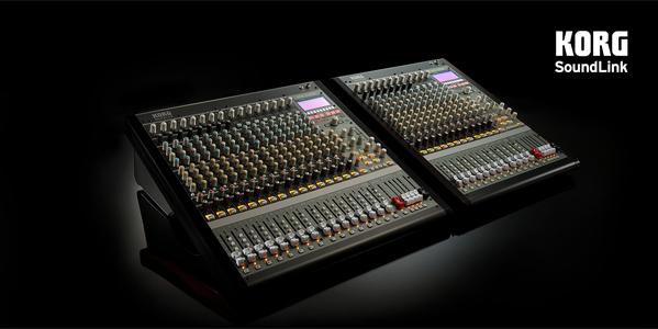 mesas híbridas digitales/analógicas de KORG