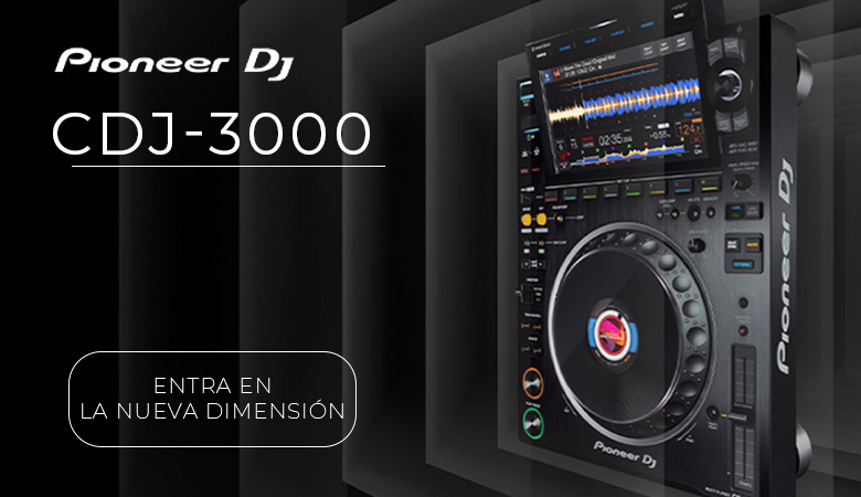 ¿Cómo es el nuevo reproductor CDJ-3000, de PIONEER DJ?