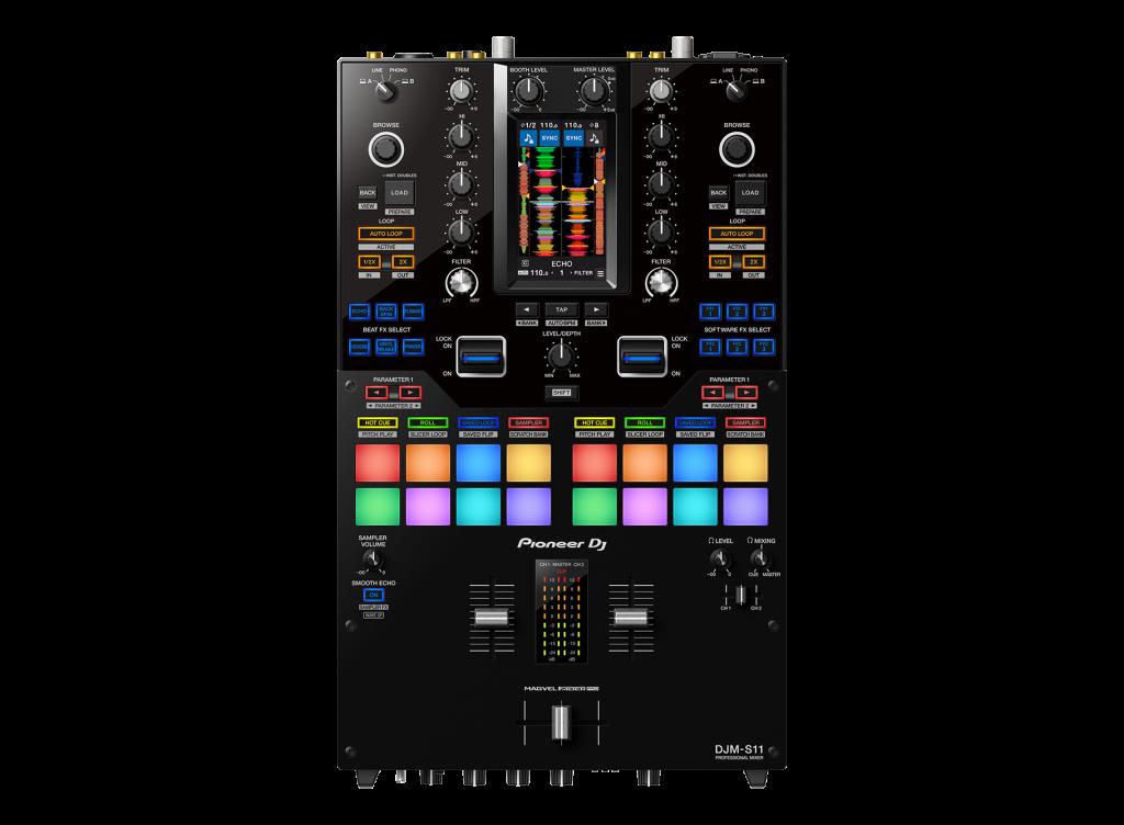 Te contamos todo sobre la nueva mesa de mezclas DJM-S11, de Pioneer DJ