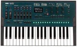 ¿Cuáles son las características del teclado sintetizador OPSIX de KORG?