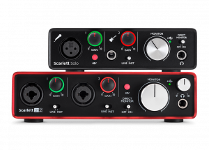 Focusrite Scarlett: los mejores interfaces de audio del mercado