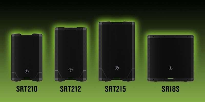 Mackie presenta la línea de caja amplificadas profesionales SRT