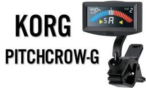 Afinador Korg Pitchcrow-G