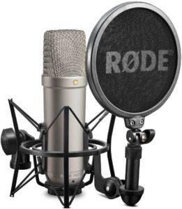 El mejor Equipo para Podcast RODE NT-1A