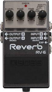 Pedales de Efecto para Guitarra BOSS RV-6