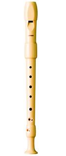 Tocar la flauta dulce de digitación barroca HOHNER B9517
