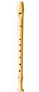 Tocar la flauta dulce con digitación barroca Hohner B9509
