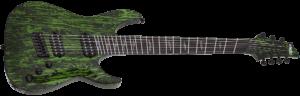 Descubre las guitarras de Schecter C-7 MS SILVER