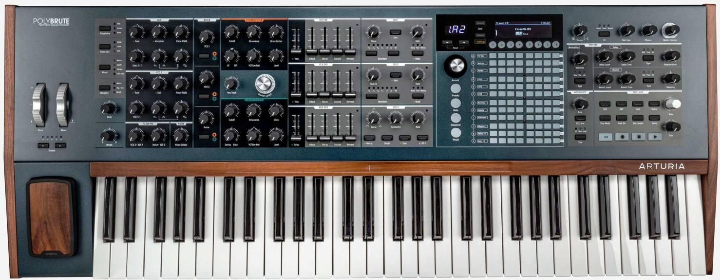 Teclado sintetizador Arturia PolyBrute