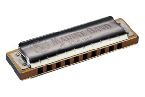 Aprender a tocar la armónica Hohner Marine Band 1896 C