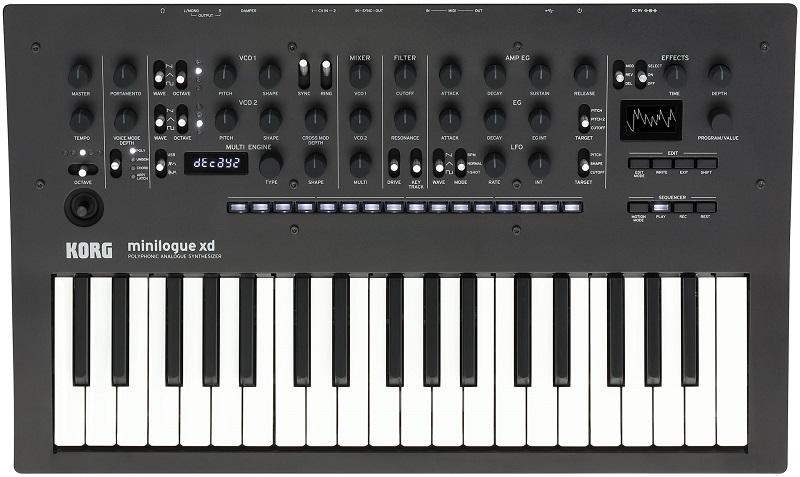 Teclado sintetizador Korg Minilogue XD