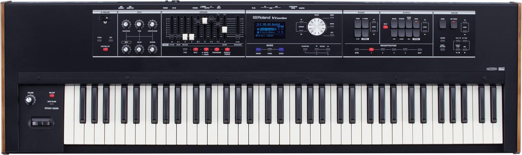 Teclado sintetizador Roland VR-730