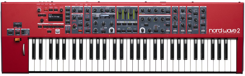 Teclado sintetizador Nord Waves 2